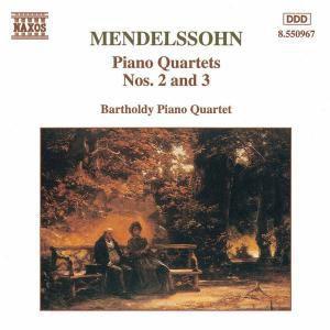 Kl.Quart. 2&3, Bartholdy Klavierquartett