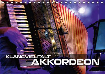 Klangvielfalt Akkordeon (Tischkalender 2019 DIN A5 quer), Renate Bleicher