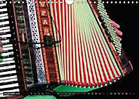 Klangvielfalt Akkordeon (Wandkalender 2018 DIN A4 quer) - Produktdetailbild 9