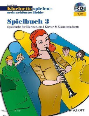 Klarinette spielen - mein schönstes Hobby, Spielbuch, 1-2 Klarinetten u. Klavier, m. Audio-CD, Rudolf Mauz