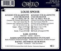 Klarinettenkonzerte 1 C-Moll Op.26/4 E-Moll Woo 20 - Produktdetailbild 1