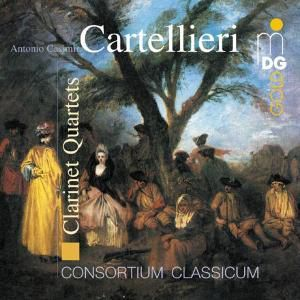 Klarinettenquartette Vol. 1, Consortium Classicum