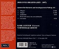 Klarinettenquintett h-Moll op.115 - Produktdetailbild 1