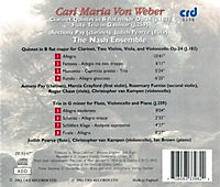 Klarinettenquintett Op.34 B-Dur/Flötentrio G-Moll - Produktdetailbild 1