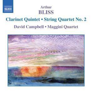 Klarinettenquintett/Streichqua, David Campbell, Maggini Quartet