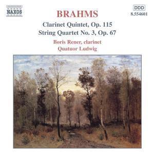 Klarinettenquintett/Streichquartett, Quatuor Ludwig, Boris Rener