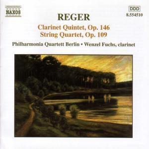 Klarinettenquintett/Streichquartett, Wenzel Fuchs, Philharmonia Quartet