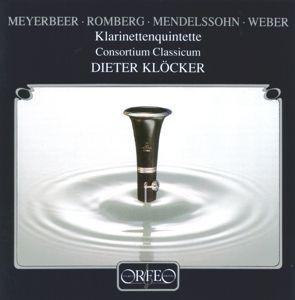 Klarinettenquintette, Klöcker, Consortium Classicum