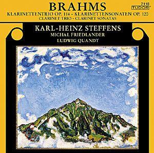 Klarinettentrio / Sonaten, Steffens, Friedlander, Quandt