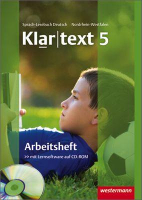 Klartext, Realschule Nordrhein-Westfalen: 5. Schuljahr, Arbeitsheft m. CD-ROM