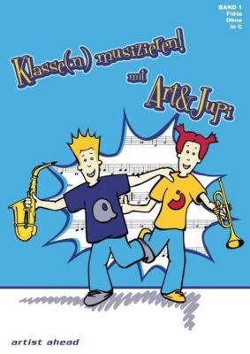 Klasse(n) musizieren mit Art & Jupi, für Flöte, Oboe, Alexander Rautnig