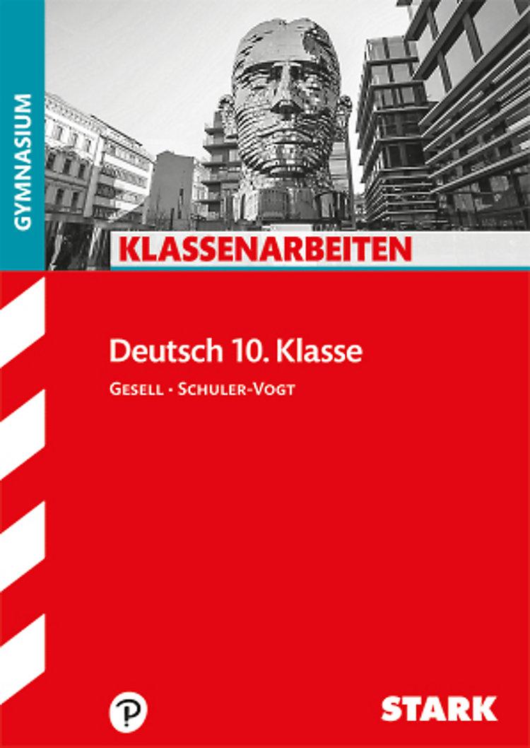 Klassenarbeiten Deutsch 10 Klasse Gymnasium Buch