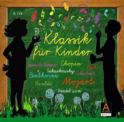 Klassik Für Kinder,  Box mit 6 CDs, Diverse Interpreten