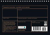 Klassische Automobile - Lenkräder und Armaturen (Tischkalender 2019 DIN A5 quer) - Produktdetailbild 13