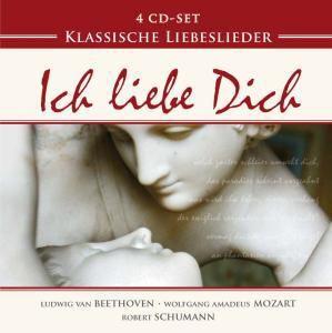 Klassische Liebeslieder - Ich liebe Dich, 4 CDs, Diverse Interpreten