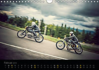 Klassische Motorräder auf der Piste (Wandkalender 2019 DIN A4 quer) - Produktdetailbild 2