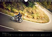 Klassische Motorräder auf der Piste (Wandkalender 2019 DIN A4 quer) - Produktdetailbild 10