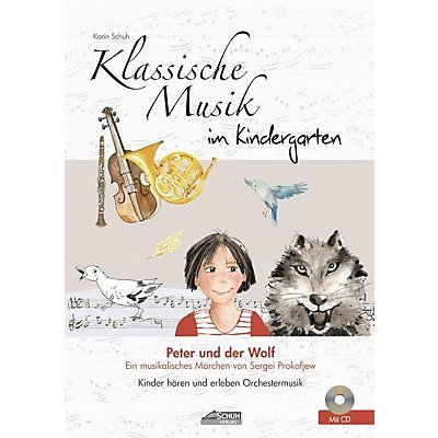 klassische musik im kindergarten peter und der wolf m audio cd. Black Bedroom Furniture Sets. Home Design Ideas