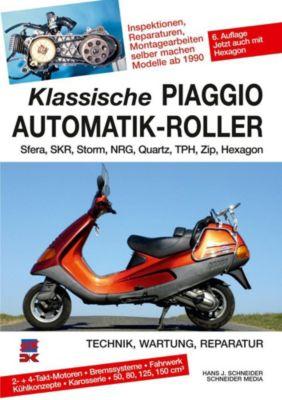 Klassische Piaggio Automatik-Roller - Hans J. Schneider |