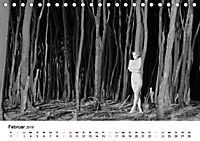 Klassischer Akt schwarz und weiss (Tischkalender 2019 DIN A5 quer) - Produktdetailbild 2