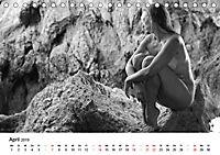 Klassischer Akt schwarz und weiss (Tischkalender 2019 DIN A5 quer) - Produktdetailbild 4