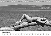 Klassischer Akt schwarz und weiss (Tischkalender 2019 DIN A5 quer) - Produktdetailbild 9