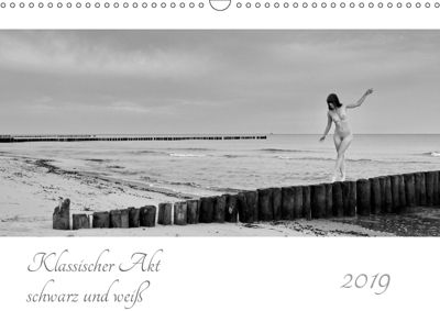 Klassischer Akt schwarz und weiß (Wandkalender 2019 DIN A3 quer), Dieter Kittel