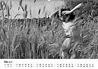 Klassischer Akt schwarz und weiß (Wandkalender 2019 DIN A2 quer) - Produktdetailbild 5