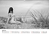Klassischer Akt schwarz und weiß (Wandkalender 2019 DIN A2 quer) - Produktdetailbild 7