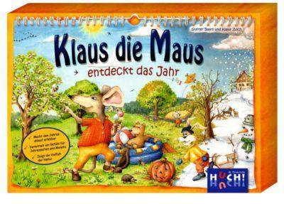Klaus die Maus entdeckt das Jahr, Lernspiel