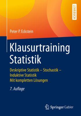 Klausurtraining Statistik, Peter P. Eckstein