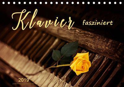 Klavier fasziniert (Tischkalender 2019 DIN A5 quer), Peter Roder