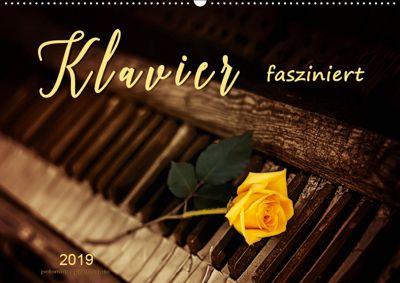 Klavier fasziniert (Wandkalender 2019 DIN A2 quer), Peter Roder
