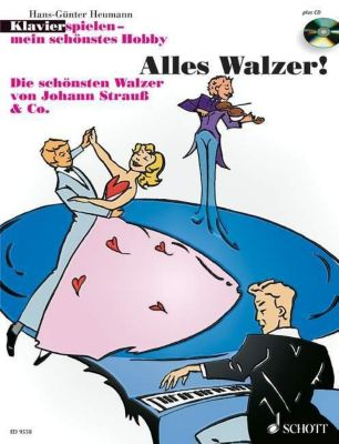 Klavier spielen - mein schönstes Hobby - Alles Walzer!, m. Audio-CD, Hans-Günter Heumann