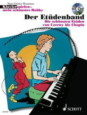 Klavier spielen, mein schönstes Hobby - Der Etüdenband, m. Audio-CD, Hans-Günter Heumann