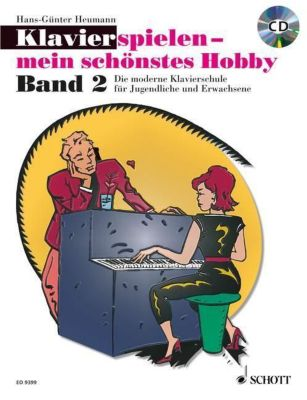 Klavier spielen, mein schönstes Hobby - Schule, m. Audio-CD, Hans-Günter Heumann