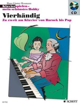 Klavier spielen, mein schönstes Hobby - Vierhändig, m. Audio-CD, Hans-Günter Heumann