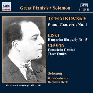 Klavierkonzert 1/+, Solomon, Hamilton Harty, Halle O