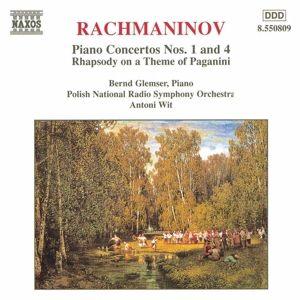 Klavierkonzert 1+4/Rhapsodie*G, Bernd Glemser, Antoni Wit, Prso