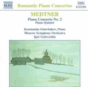 Klavierkonzert 2/Klavierquint., Scherbakov, Golowschin, Moso