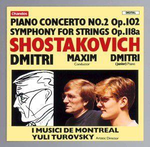 Klavierkonzert 2 U.Streichers., Yuli Turovsky, Imm