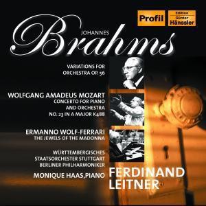 Klavierkonzert 23/Variation, Haas, Leitner, Bp, Wss