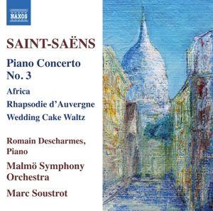 Klavierkonzert 3/+, Romain Descharmes, Marc Soustrot, Malmö So