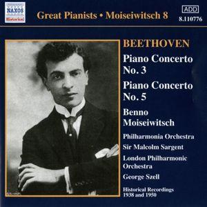 Klavierkonzert 3+5, Moiseiwitsch, Sargent, Szell