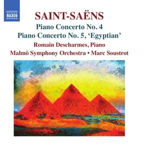 Klavierkonzert 4+5, Romain Descharmes, Marc Soustrot, Malmö So