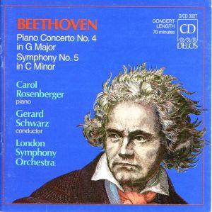 Klavierkonzert 4/Sinfonie 5, Carol Rosenberger, Schwarz, Lso