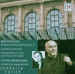 Klavierkonzert 5, D. Zinman, Y Bronfman, Tonhalle