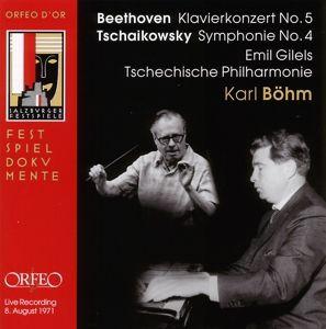 Klavierkonzert 5 Op.73/Sinfonie 4 Op.36, Gilels, Böhm, Tp