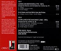 Klavierkonzert 5 Op.73/Sinfonie 4 Op.36 - Produktdetailbild 1