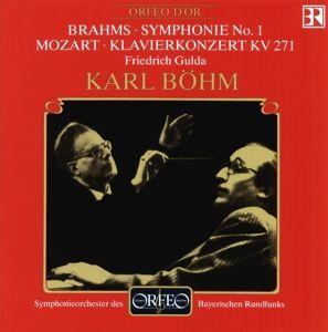 Klavierkonzert Es-Dur Kv 271/Sinf.1 C-Moll Op.68, Gulda, Böhm, Sobr
